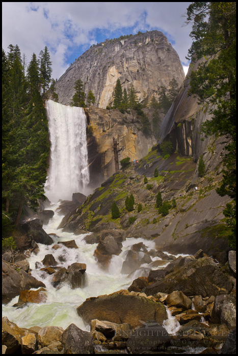 Image: Vernal Fall and the Mist Trail, Yosemite National Park, California