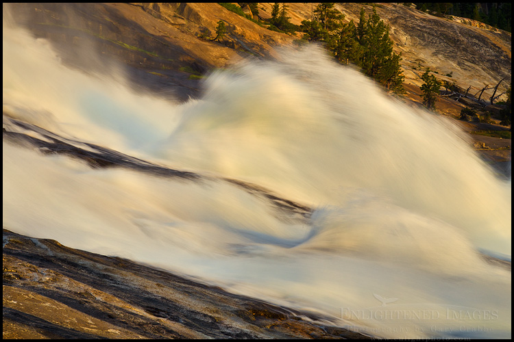 Image: Waterwheel Falls (?), Tuolumne River, Yosemite National Park, California
