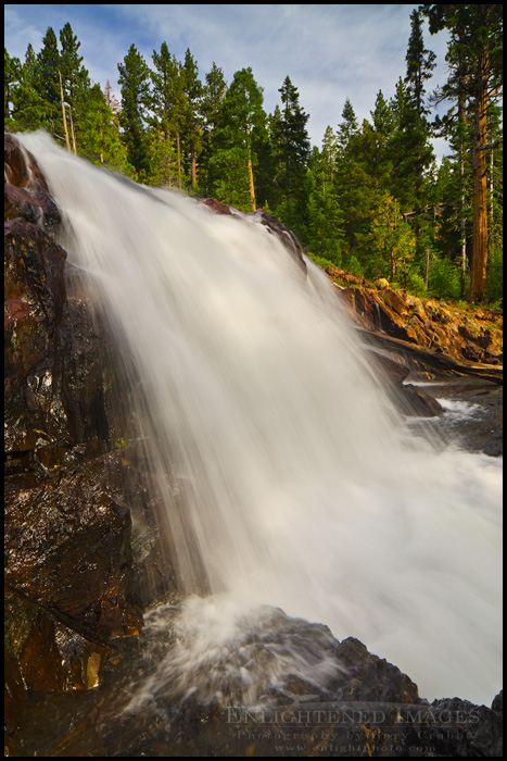 Image: Glen Alpine Falls, near Lake Tahoe, California