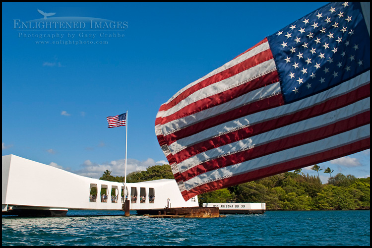 Image: USS Arizona Memorial, Pearl Harbor, Oahu, Hawaii