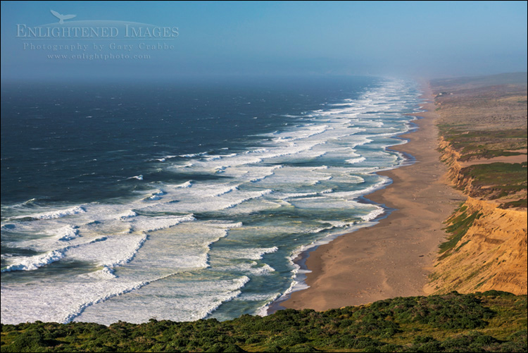 Image: Looking over the Great Beach,Point Reyes National Seashore, California