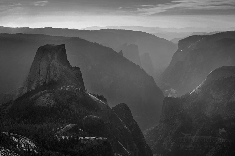 Image: Half Dome and Yosemite Valley as seen from the summit of Clouds Rest, Yosemite National Park, California