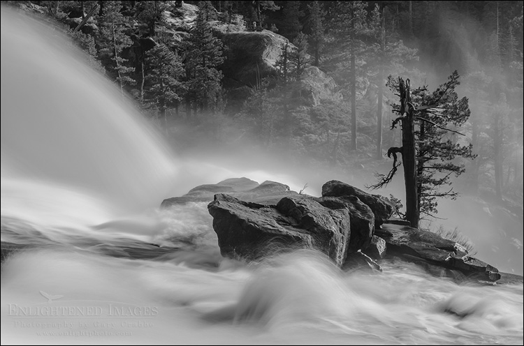 Image: Le Conte Falls on the Tuolumne River, Yosemite National Park, California