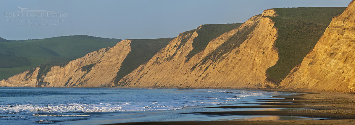 Image: Photographer shooting at Limantour Beach, Point Reyes National Seashore, Marin County, California