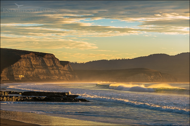 Image: Morning light at Drakes Bay, Point Reyes National Seashore, Marin County, California