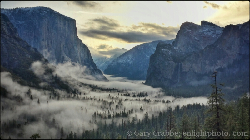 Image: Sunrise over Yosemite Valley, Yosemite National Park, California