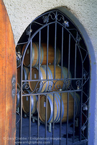 Stock Photo Picture Image Wine Cave Door And Gate Schug