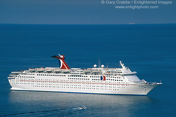 Picture Cruise Ship Anchored Offshore From Avalon